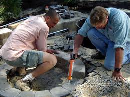 how to build a round stone fire pit how tos diy
