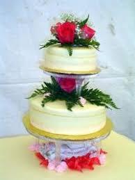 red rose wedding cakes