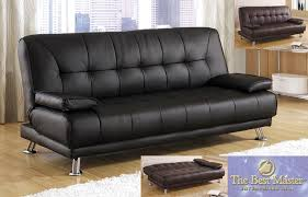 Black Leather Sleeper Sofa Leather Sleeper Sofa Bed And