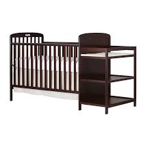 Changing Table And Crib On Me 4 In 1 Convertible Crib And Changing Table Combo
