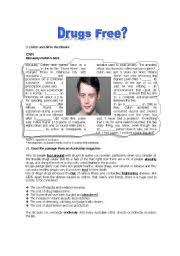 english teaching worksheets drugs
