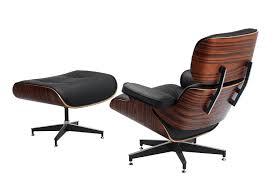 Upholstered Swivel Chairs For Living Room Furniture Modern Brown Wooden Upholstered Black Leather Swivel