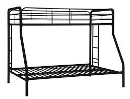 Bunk Beds  Twin Over Futon Bunk Bed With Mattress Included - Futon bunk bed instructions