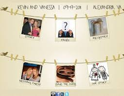 Wedding Fund Websites Most Creative Wedding Websites Planning Basics Theknot Com