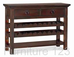 console table wine rack modern images console table design sofa