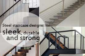 office stairs design 10 steel staircase designs sleek durable and strong