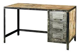 maison du monde bureau bureau metal bois bureau pite bureau bois metal maison du monde