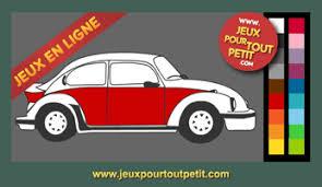 jeux de coloriage en ligne pour gar on peindre voiture vw