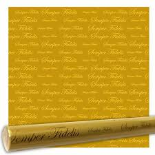 gold wrapping paper wrapping paper semper fidelis gold metallic vanguard