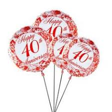 balloon delivery uk send silver jubilee anniversary balloons to your parents in uk