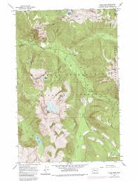 Washington State Geologic Map by Sloan Peak Topographic Map Wa Usgs Topo Quad 48121a3