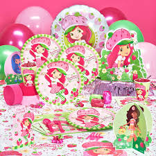 strawberry shortcake party supplies strawberry shortcake birthday party supplies birthday