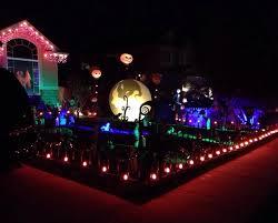 christmas yard epic nightmare before christmas yard