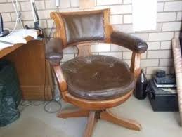 Antique Captains Chair Captains Chairs Antiques Art U0026 Collectables Gumtree Australia