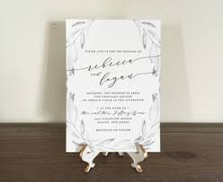 custom invitation semi custom invitations papertree studio
