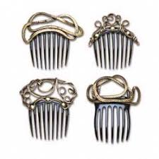 vintage hair combs intricate hair combs from bottega veneta selected by creative