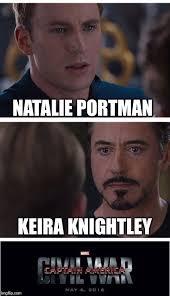 Natalie Meme - marvel civil war 1 meme imgflip