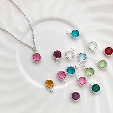 children s birthstone necklace for children s birthstone necklace tom design shop