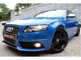 kereta audi s4 audi s4 2010 3 0 in selangor automatic sedan blue for rm 109 300