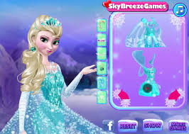 frozen makeup games