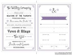 free sle wedding programs best 25 wedding program templates ideas on wedding