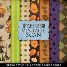 vintage halloween backgrounds freebies kit of retro backgrounds for halloween far far hill