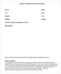 Fax Cover Sheet Template Pdf Cover Sheet 13 Free Word Pdf Documents Free