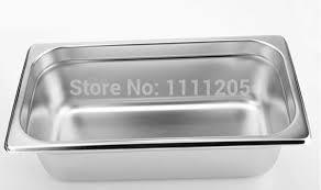 stainless steel bain marie 3l food pan buffet warmer inserts