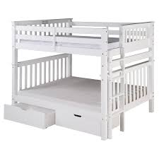 Columbia Full Over Full Bunk Bed by Camaflexi Santa Fe Mission Tall Bunk Bed Full Over Full Bed End