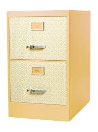 Yellow Metal Filing Cabinet How To Update A Yard Sale Filing Cabinet Hgtv