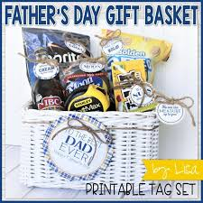 fathers day gift basket s day basket gift tag kit printable my computer is my