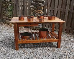 kitchen island work table c1840