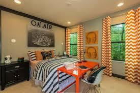 Chevron Design Curtains Orange Patterned Curtains Orange Curtains Geometric Decor By