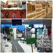 Office Cubicle Decorating Ideas My Cubicle Decorated For Christmas Gonna Have To Do Something