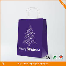 christmas paper bags dw cs8011 new decorative christmas wrapping luminary paper bags
