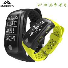 activity monitoring bracelet images New makibes g03 smart bracelet ip68 waterproof sport tracker gps jpg