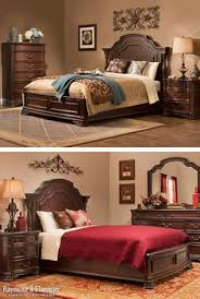 Granite Top Bedroom Set by Beautiful King Size Bed Frame Using Brown Leather Headboard And