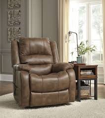 yandel saddle power lift recliner from ashley 1090012 coleman