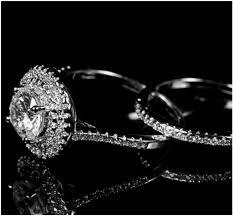 4 carat cubic zirconia engagement rings kleta halo engagement ring set 4 carat cubic