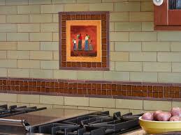 kitchen tiling brick pattern on walls cabinet refinishing kit