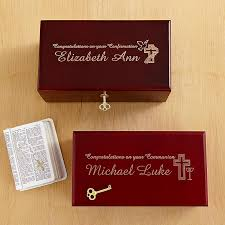 communion gift ideas for boys locking heirloom communion confirmation keepsake box communion