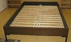 Engan Bed Frame White Metal Bed Frame Homebase In Rugby Warwickshire