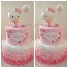 Bedroom Ideas For Girls Hello Kitty Hello Kitty Children U0027s Birthday Cakes Cake Designs U0026 More
