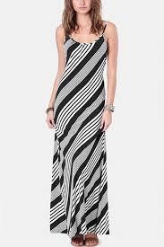 black white stripe backless maxi dress casual dresses women