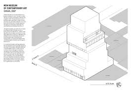 case study new museum of contemporary art on behance museum