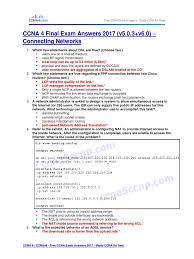 ccna 4 final exam answers 2017 v5 0 3 v6 0 u2013 connecting networks