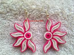 quiling earrings beautiful easy paper quilling earrings designs images the