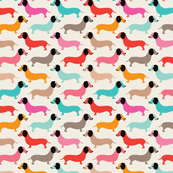 dachshund wrapping paper dachshund fabric wallpaper gift wrap spoonflower