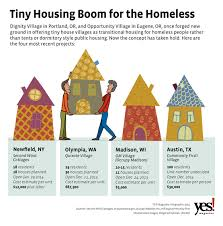 Tiny Homes Near Me Tiny Houses For The Homeless An Affordable Solution Catches On