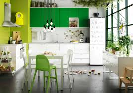green kitchen cabinets ikea design ideas with white small designs